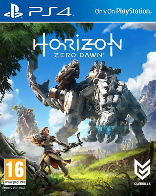 Horizon Zero Dawn Standard Edition PS4 NEW SEALED DISPATCHING ALL BY 2 P.M.