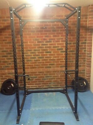 Heavy Duty Olympic Full Power Cage/Rack Squat/Bench Press Home Gym