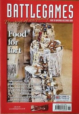 Battlegames - Issue 20 Nov/dec 2009 - Food For Thought