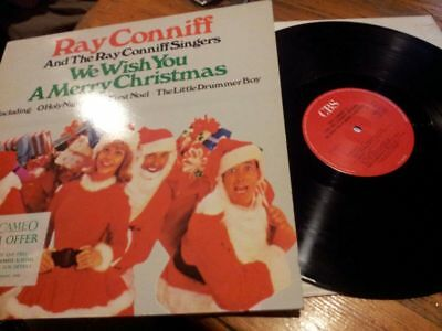 Ray Conniff! We Wish You A Merry Christmas Lp! Vinyl Record! 460579 1! Cbs! 1976