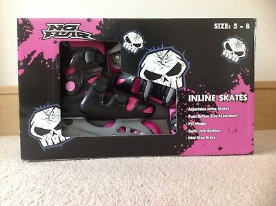 NEW No Fear Inline Skates, Size 5 - 8