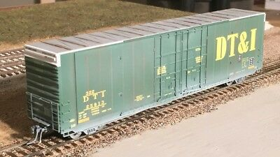 ExactRail HO Scale DT&I Greenville 60' Double Plug Door Boxcar EP-80304-5