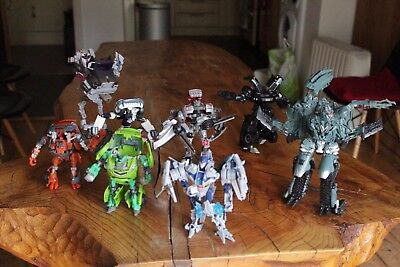 Transformers Toy Bundle includes Skids, Mudflap etc 8 characters in total