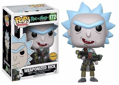 Weaponized Rick Chase Funko Pop Vinyl Figure Rick and Morty