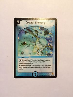 * RARE * Crystal Memory 29/110 Duel Masters Card DuelMasters 99p