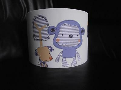"CHEEKY MONKEY next 10"" DRUM CEILING LAMPSHADE LIGHTSHADE"