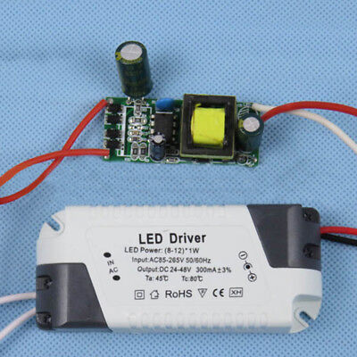 Dimmable Transformer LED Light Lamp Driver Power Supply 1-3W/4-7W/8-12W/12-18W