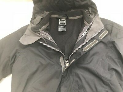 North Face Jacket absolutely mint condition black size children's XS 6