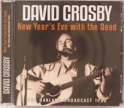 David Crosby New Years Eve with the Dead  LIKE NEW  10 Track  CD 2017 Hobo CSNY