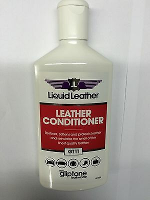 """Gliptone Liquid Leather Conditioner GT11 250ML """"New Packaging"""""""