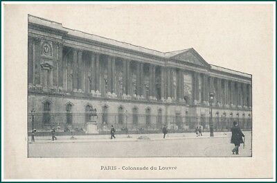 Carte Postale Paris - Colonnade du Louvre (#15851)