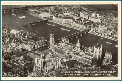 Postcard London - From the Air (#14555)