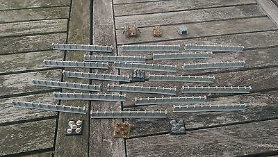 *SCENERY* 20 6mm scale walls. Ideal for Epic, Dystopian Wars + any 6mm game