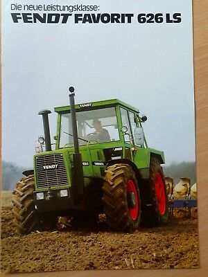 Fendt Favorit 626 LS Prospekt