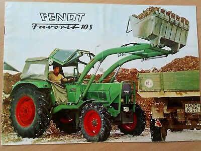 Fendt Favorit 10 S Prospekt