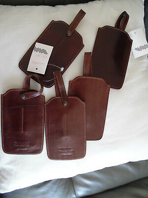Joblot 5 Brown Leather John Lewis Smart Phone Cases  NEW WITHOUT TAG