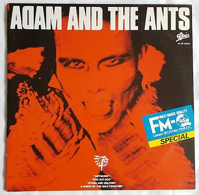 Adam Ant / The Ants ‎– Finest Music Quality 45 Special Vol.4 Promo RARE