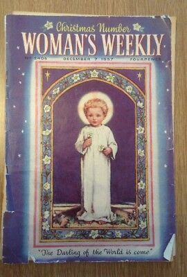 Woman's Weekly Christmas Number December 7 1957 No. 2405