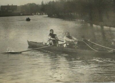 Vintage Rowing Photograph/Oxford Varsity /14 x 10 cm