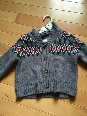 Carter's Baby Boy Sweater Button Up Jacket Sz 2T NWOT