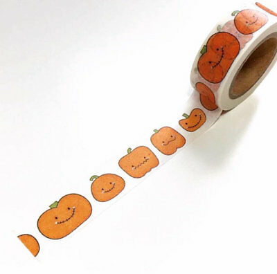 Halloween pumpkins washi tape, pumpkin washi, decorative tape * Free P&P