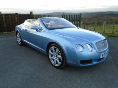 Bentley Continental Coupe Gtc Convertible 6.0 Automatic, Metallic Silver-Lake