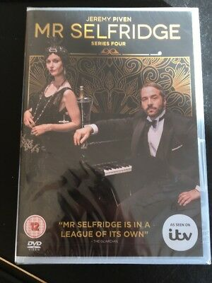 Mr Selfridge Series 4 [3 DVDs] NEU Season Komplette Staffel Vier DVD