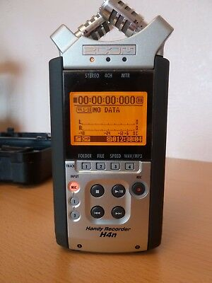 Zoom H4n Handy Recorder in Hard Case with remote, power supply and 2x 8GB Cards
