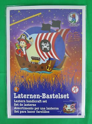 St. Martin Laternen Bastelset DIY Easy Line 8 Piratenschiff 17 cm