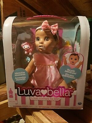Luvabella Responsive Baby Doll Brunette * Luva bella * 2017 Christmas toy ❤🍼