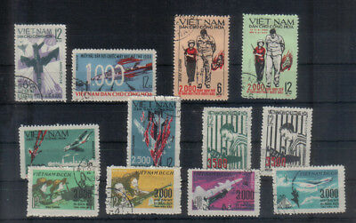 North Vietnam Small collection of War Propaganda stamps