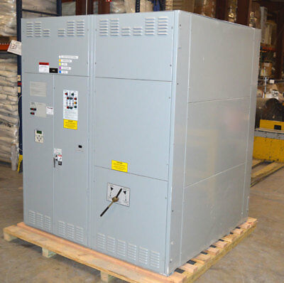 Asco 7000-Series Automatic Transfer & Bypass Isolation Switch Station 3000-Amps