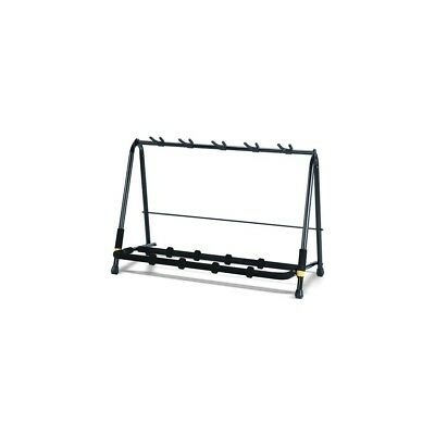 Hercules GS525B 5-Way Multi-Stand Foldable Guitar Rack - holds up to 5 guitars