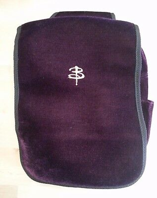 Mint Buffy the Vampire Slayer Rare Purple Velvet One Shoulder Back Pack bag