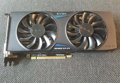 EVGA Nvidia GTX 970 4GB FTW+ GAMING w/ACX 2.0+ PCIe Video Card - Mint!!!