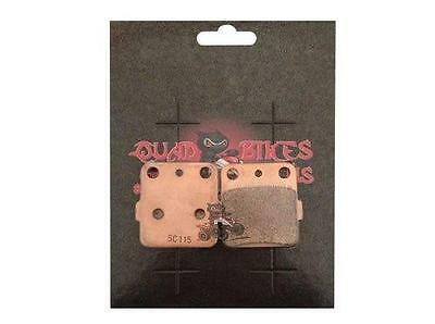 QBRUS Aftermarket Sintered Rear Brake Pads to fit a Suzuki LTR450 Quad Parts
