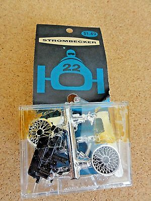 NOS Strombecker 1/32 Slot Car Ackerman Steering Kit #9092 w Instructions
