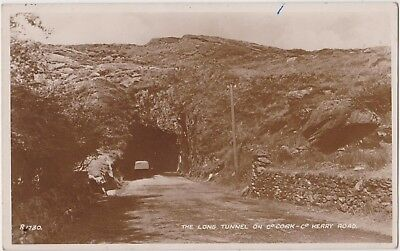 Rp Long Tunnel On Co Cork To Co Kerry Road  Ireland  Real Photo C 1955