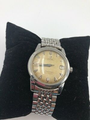 Omega Automatic Sea master Calendar Wrist Watch Working