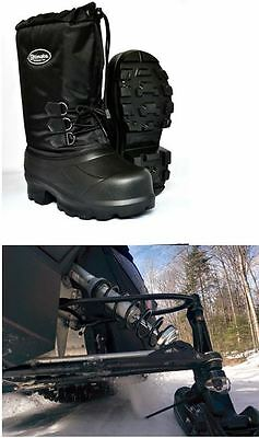 Combo deal RT-PRO Snowmobile Ice Scratcher and Snowmobile EVA boots