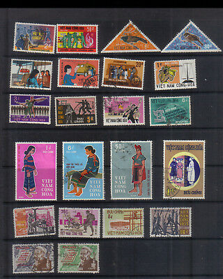 South Vietnam 1969-70 Used collection