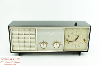 Vintage Philco Clock Radio | Full Feature Alarm Clock | Working Condition