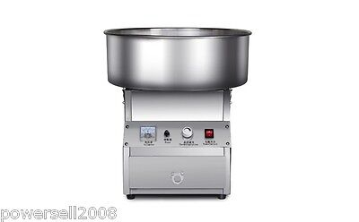 950W Electric Commercial Cotton Candy Maker Fairy Floss Machine Stainless Steel.