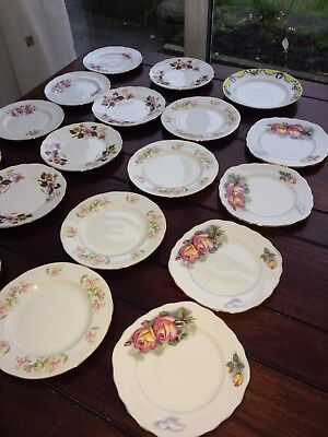 Joblot Vintage china cake/tea plates part Tea set ?