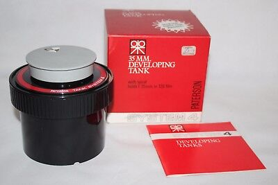 Paterson System 4 35mm Developing Tank - Unused in Box - vgc