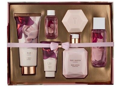 Ted Baker Bathed In Roses Toiletries Collection Christmas Gift Set Ladies