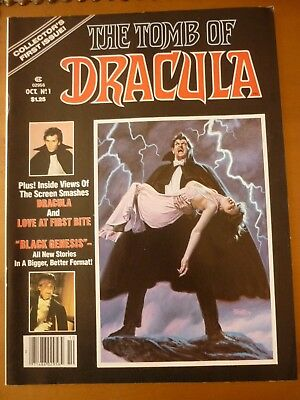 The Tomb of Dracula 1 Marvel Magazine 1979 High Grade