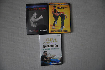 Jeet Kune Do Alan Flash Ground Burton Richardson Trapping Wing Chun3 DVD Set
