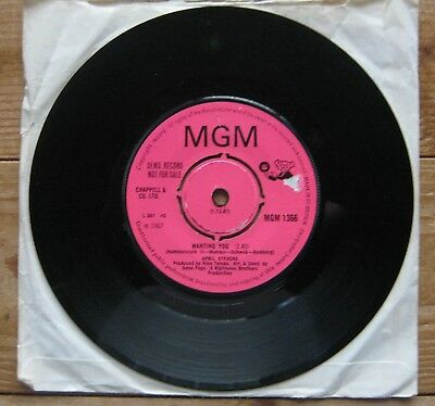 April Stevens Wanting You Vinyl Record single. Northen Soul RARE MGM 1366 DEMO C