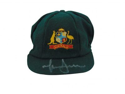Mitchell Johnson Signed Australia Cricket Baggy Green Cap Ashes + Photo Proof